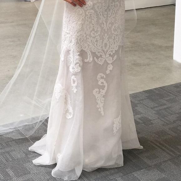 70 off angel sanchez dresses skirts unworn sample for Designer sample wedding dresses