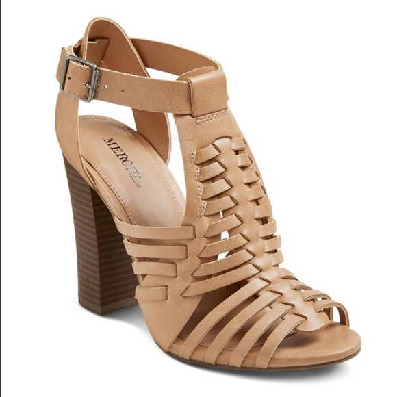 2fad65f22403 Merona shoes womens missi huarache sandals poshmark jpg 580x580 Womans  haurche heeled sandal