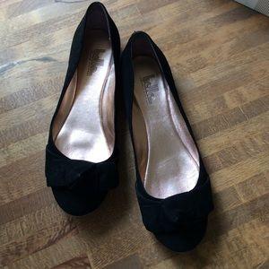 Sigerson Morrison Shoes - Belle by Sigerson Morrison Black Suede Flats 7.5M