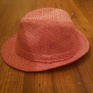 191 Unlimited Accessories - 🎩Pink tweed fedora hat🎩
