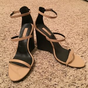 Forever 21 Shoes - Nude Strappy Heels!