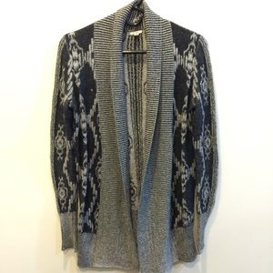 Ecote Sweaters - 🌈🌈 SALE ecote Black Gray Knit Open Cardigan 🌈🌈
