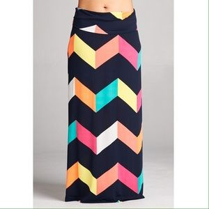 Dresses & Skirts - Colorful Maxi Skirt