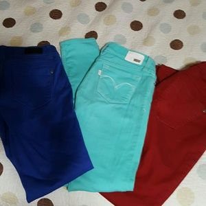 WOW Color  Skinny Jeans