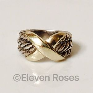 David Yurman Jewelry - David Yurman Classic Cable X Crossover Ring