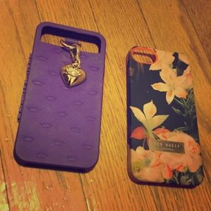 Juicy couture and Ted baker iPhone 5 case