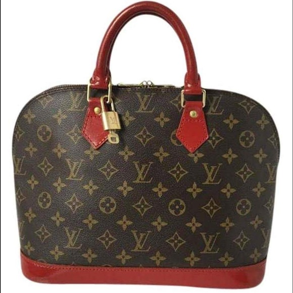 e82f9c9eda65 Louis Vuitton Handbags - 100% Authentic Louis Vuitton Alma Handmade Dyed