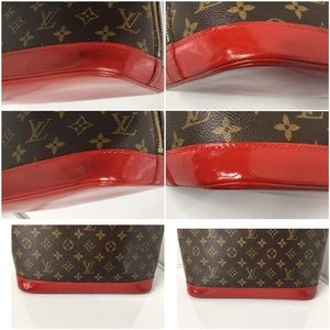 e1b2d0d878fb Louis Vuitton Bags - 100% Authentic Louis Vuitton Alma Handmade Dyed