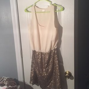 MM couture sequin skirt dress