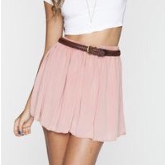 70% off Brandy Melville Dresses & Skirts - Brandy Melville Blush A ...