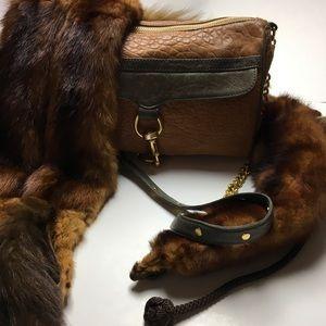 Rebecca Minkoff Handbags - Rare RM Two Toned Tassel Ostrich Bag 💋