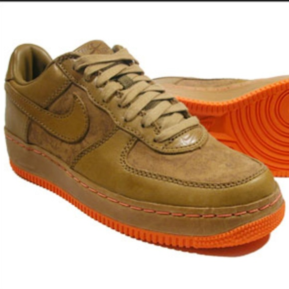 pretty nice b5022 e5ea1 Rare Nike Air Force 1 tan Sneakers