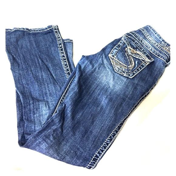 71% off Silver Jeans Denim - Silver jeans suki surplus bootcut ...
