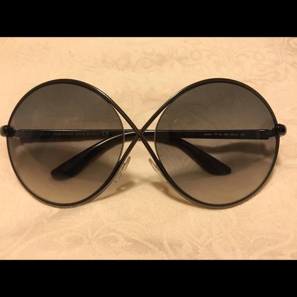 bc062ed5f0fe4 Tom Ford Beatrix Round Sunglasses. M 57d903c068027852ea06741f. Other  Accessories ...