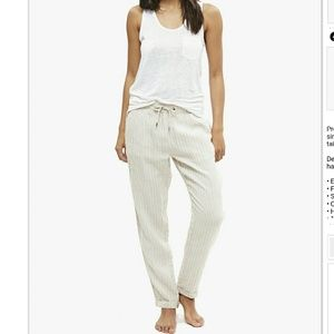 Onia Pants - $175 Onia XS Ella linen pants