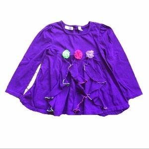 Kids Headquarters Other - Purple ruffle top