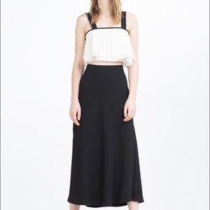 Zara Dresses & Skirts - Zara woman long skirt with slits