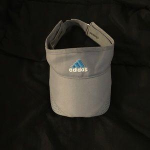 Grey adidas visor