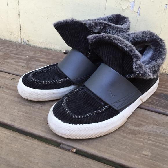 Puma Shoes | Puma Mens Lined Slipon