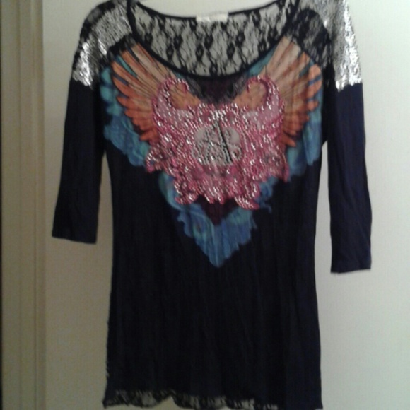 Angels Diamonds Tops Bling Blouse From Buckle And 2 Other