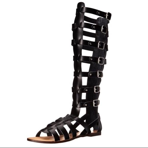 5c35ea08549 ✨BNIB✨ Steve Madden Penna Tall Gladiator Sandal 8 NWT