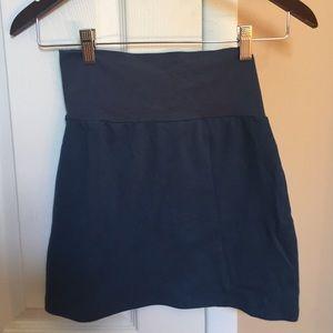 American Apparel size medium navy mini skirt