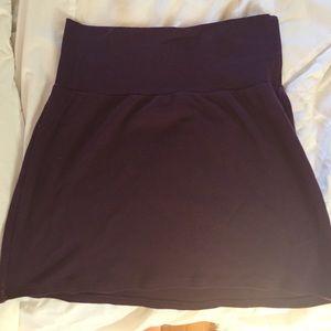 American Apparel size medium purple mini skirt