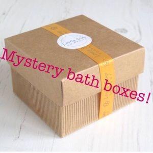 Lush mystery bath boxes!