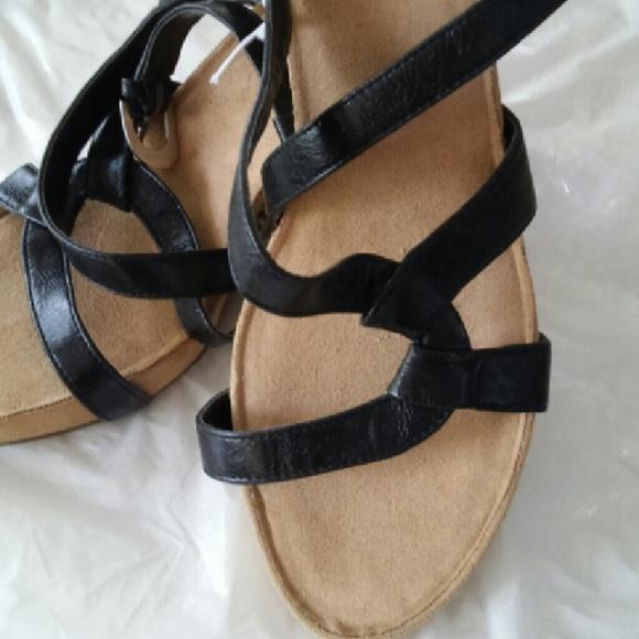 5efa9795b498 Aerosoles black sandals..brand new ..never used. NWT. AEROSOLES.  22  49.  Size. 10