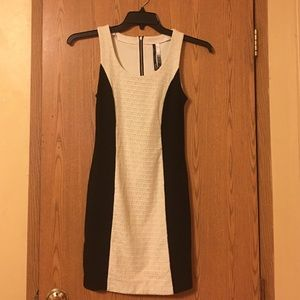 Kensie XS Black & White Dress