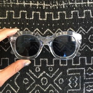 Uniqlo Clear-frame Sunnies