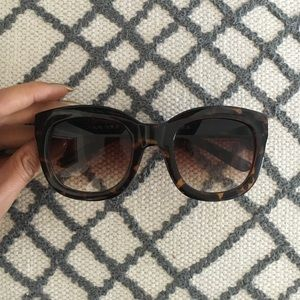 Anthropologie Accessories - Oversized Tortoise Sunnies