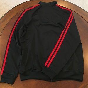 adidas shirt black and red