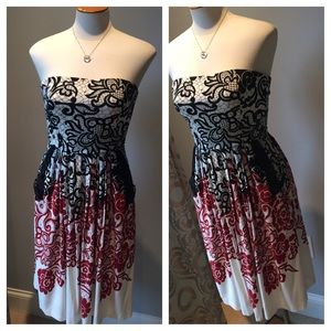 OASIS Strapless Dress