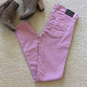 Zara Trafaluc Denim colored jeans