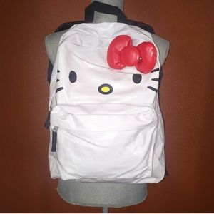 Sanrio Handbags - Sanrio Hello Kitty White Wipeable Backpack