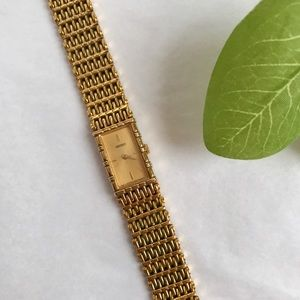 Seiko Accessories - Seiko Gold Watch