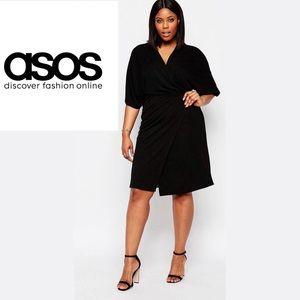 ASOS Dresses & Skirts - 🎉HOST PICK!🎉ASOS Black Wrap Dress