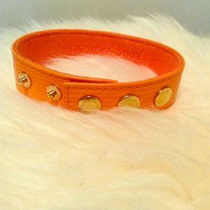 AUTHENTIC Louis Vuitton VIP epi leather bracelet