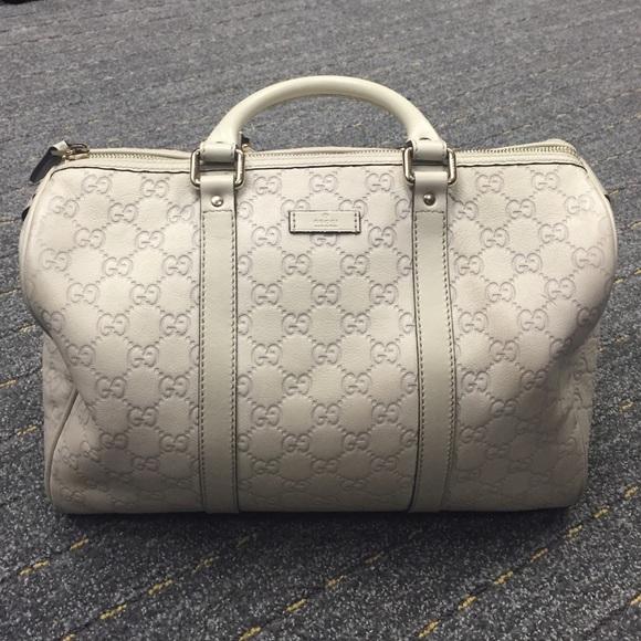 a180f078c561 Gucci Bags | Bag Medium Joy Boston Off White | Poshmark