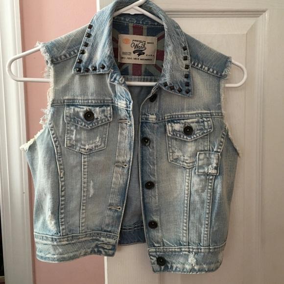aa6201b5f9452 Zara jackets coats cut off denim vest poshmark jpg 580x580 Cut off denim  vest