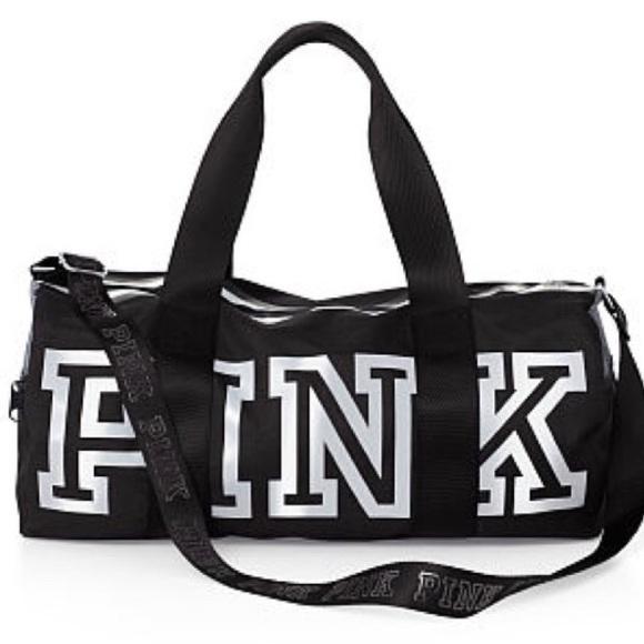 df03fd62a PINK Victoria's Secret Bags   Nwt Vs Pink Duffle Bag Large   Poshmark