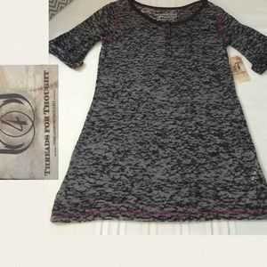 Threads 4 Thought Tops - 🚨 NWT Threads for Thoughts LS Organic T, Sz S