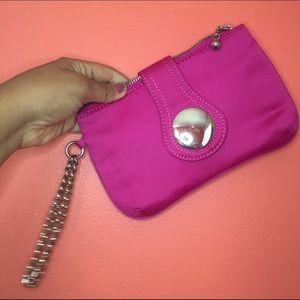 Bakers Handbags - Pink Clutch