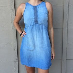 Chiffon (Soft Jean) Dress 💙