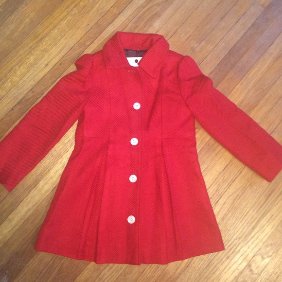55% off Cherokee Jackets & Blazers - toddler girls red pea coat