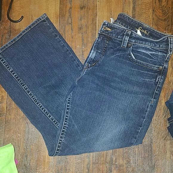 Silver Jeans - Silver Jeans, Size 16, Suki Capris- Last Chance ...