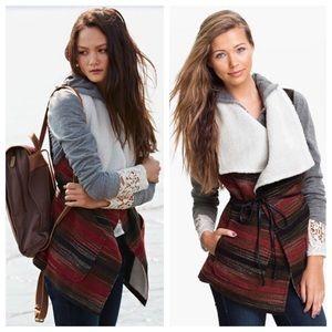 Jolt Jackets & Blazers - Jolt Southwest Blanket Vest