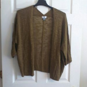 """Old Navy Brown Sweater- Just REDUCED"""""""