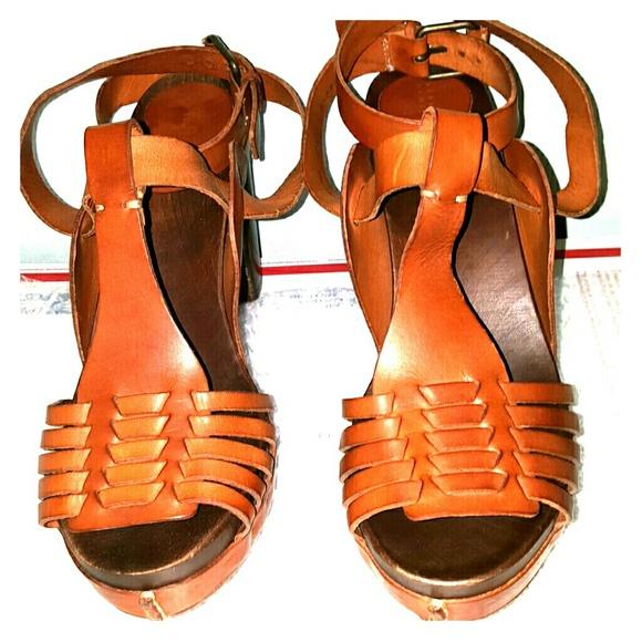 3ee012ae2fa Barneys New York Shoes - Barneys NY strappy sandals cognac upper